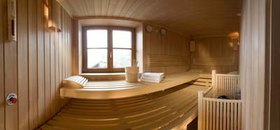 Holzsauna