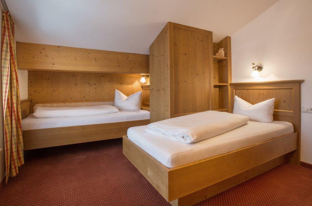 Rustikales Zweibettzimmer Apartment Hochzillertal