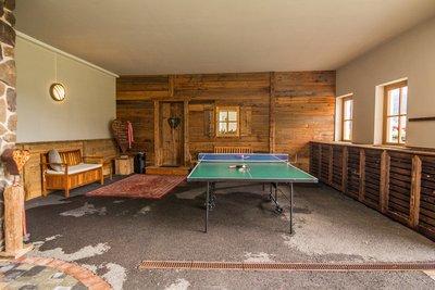 Tischtennisplatte im Außenbereich Apartment Schwalbennest