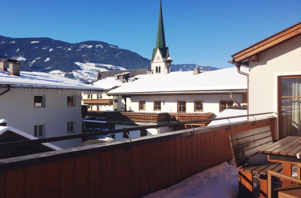 Aussicht vom Balkon Richtung Stumm Apartment Hochzillertal