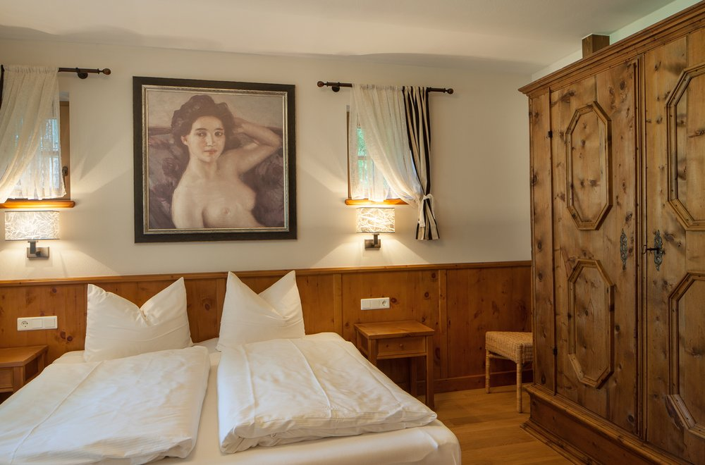 Rustikales Schlafzimmer Apartment Tirol