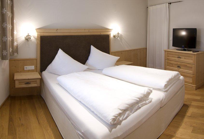 Schlafzimmer Apartment Gänseblümchen